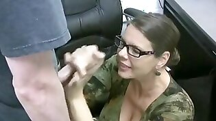 Exclusive Scene Home Office Kiki Gets A Facial