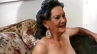 Glam grandma pounded by bus guy