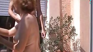 Aunt In Front Of Cam Showing Her Body