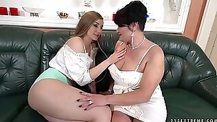 Real lesbians sucking her lover with jewish sex doll