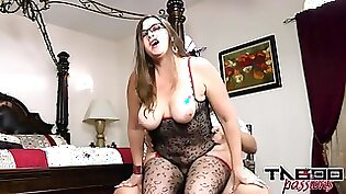 Big panty sucked and fucked by Step Mom