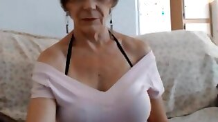 Busty granny gets rammed
