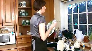 Carrie Young ass fucking on Kitchen video