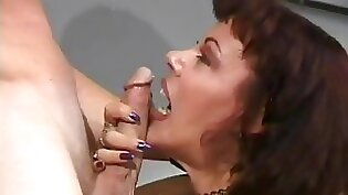 Blonde Mature Brazos Getting Bare fucked In The Office