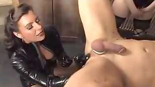 Beautiful slave tied up and tortured