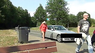 Sexy Teen Tries to Fuck And Piss On Traffic
