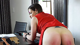 Spanking And Stroking My Tight Pussy