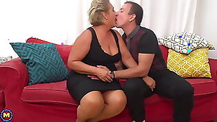 letting my granny cum inside another woman