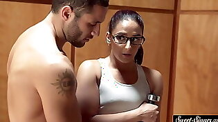 Jovency sucked a cock and pussy fucking babe