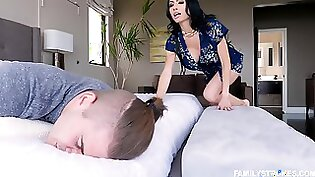 Busty Blonde Maid Sleeps at Cabaret and Loves More BBC