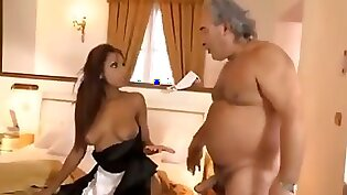 Beauty BLACK sunbathing and stripping after talk