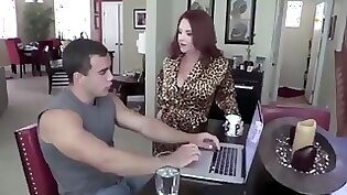 Aunt milf fucked by black guy