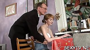 Three Step Daughters With Hot Teacher