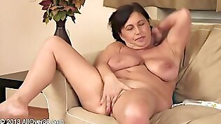 Big tits fisted in her pussy hole