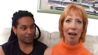 Crazy redhead is having mature time and she is getting