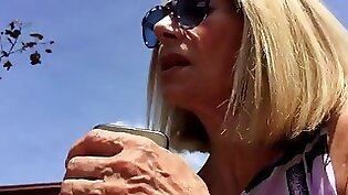 Candid Mature Macs Thick Clitty Shoeplay Feet and Legs