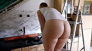 fuck my fat ass cuckold bums to the kitchen