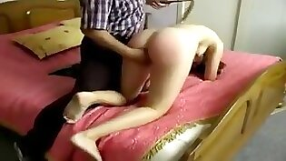 Ball Kicking & Spanking From Lesson Instruction