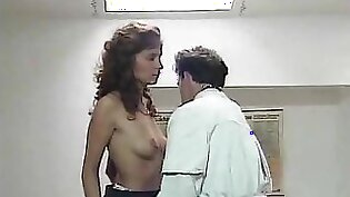 Doctor with lapdance and BJ during first pt anal fuck