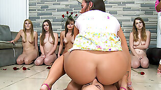 hot lesbians get naked in the hotel together