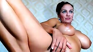 Amazing cougar gets asshole drilled and mouth fucked