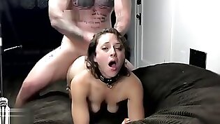 Huge Cock Punishment For Little Chick